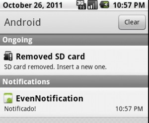 notificacion en android